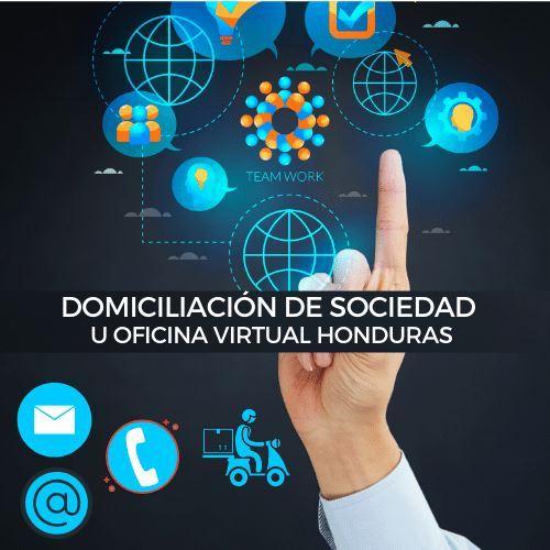 Domiciliacion de Sociedad u Oficina Virtual Honduras